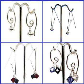 Swarovski Crystal Branch - Interchangeable earrings